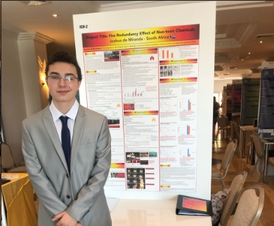 South African young scientists win big at prominent Turkey Science Fair